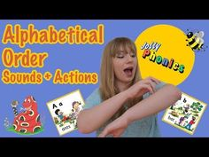 I demonstrate the first 26 letter sounds and actions in the Jolly Phonics scheme. In this video, I show you the sound and actions in alphabetical order. Teaching Letter Sounds, Alphabet Sounds, Phonics Sounds, Teaching The Alphabet, Teaching Aids, Teaching Resources, Jolly Phonics Activities, Pre K Activities, Preschool Literacy