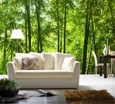 Asian Bamboo Forest 12' x 8' (3,66m x 2,44m)