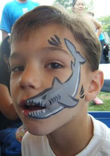 shark face paint design cheek art.    Kids activities, family fun.    Durbin Crossing.  New homes for sale in St. Johns County, FL.  Lifestyle, dog park, amenities, schools, parks.
