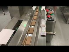 peanut bar flow packaging machine, cereal bar packaging system in high speed