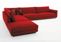 Tο κόκκινο, χρώμα της ζεστασιάς και του πάθους, μπορεί να δώσει μια νότα ενότητας και θερμότητας στο σαλόνι σας. Ανάλογα με τον συνδυασμό των επίπλων...