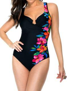 Miraclesuit Aloha Gardens Escape Swimsuit | Slimming Swimwear