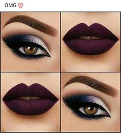 Lips, eyes