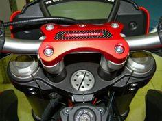 DUCABIKE oberer Lenkerhalter Ducati Hypermotard 821 und Hyperstrada ab Bj. 2013