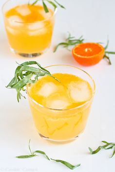 Clementine Lemon Gin Cocktail