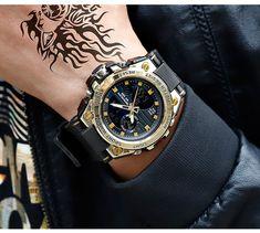 2019 New SANDA 739 Sports Men's Watches Top Brand Luxury Military Quartz Watch Men Waterproof S Shock Clock relogio masculino Sport Watches, Cool Watches, Watches For Men, Unusual Watches, Trendy Watches, Affordable Watches, Best Military Watch, Swatch, Sport Fashion