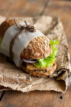 Soy Fillet Burgers   Flickr: Intercambio de fotos
