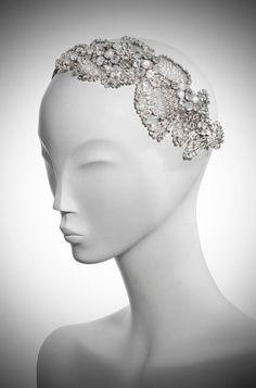 Jenny Packham bridal headdress
