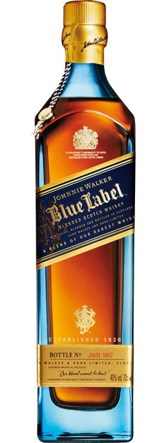Johnnie Walker Blue Label Reserve Blended Scotch Whisky ... the ultimate among all the Labels, this ultra-premium whisky is a blend of some of the rarest and most precious whiskies in the world, some of which are from distilleries that no longer exist.