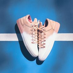 Filling Pieces Mountain Cut Degrade - White/Coral