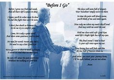 A message from a dying dog to his master.......so precious!