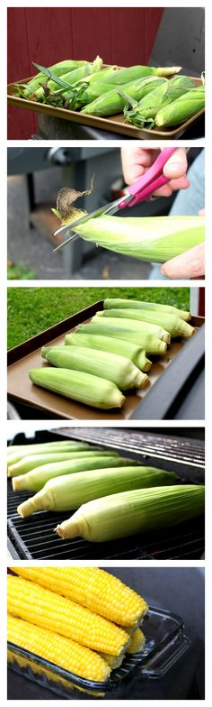 Perfect Grilled Sweet Corn | www.chocolatewithgrace