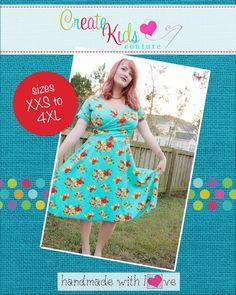 Create Kids Couture - Mattia's Women's Asymmetrical Circle Dress and Tunic  PDF Pattern, $5.60 (http://createkidscouture.com/mattias-womens.html)