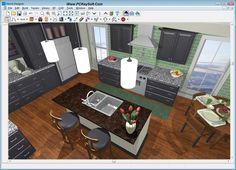Free Kitchen Design Software  Kitchen Designs  Pinterest Enchanting Software For Kitchen Design Design Decoration