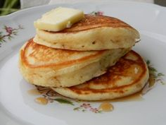 I am not sure why we, yes I include myself, ever started using pancake mix. Pancakes from scratch are easy – certainly not any harder than measuring just a couple of ingredients and mixing &#…