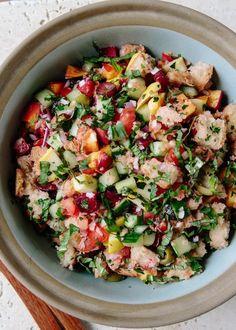 Spicy Panzanella Salad