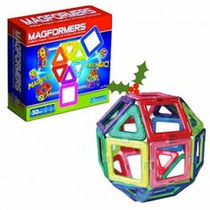 Magformers 30-Piece Magnetic Building Set