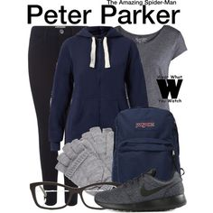 Inspired by Andrew Garfield as Peter Parker in The Amazing Spider-Man film franchise. - Visit to grab an amazing super hero shirt now on sale! Marvel Inspired Outfits, Disney Themed Outfits, Disney Inspired Fashion, Character Inspired Outfits, Disney Bound Outfits, Disney Fashion, Fandom Fashion, Geek Fashion, Lolita Fashion