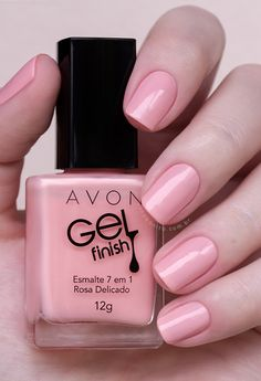 Avon's Gel Finish Nail Polish gives you a high-shine manicure without the UV light. Polish includes seven benefits like shine, protection, and vivid color. Avon Nail Polish, Avon Nails, Nail Polish Colors, Gel Polish, Gel Manicures, Nail Polishes, Spring Nail Colors, Spring Nails, Summer Nails