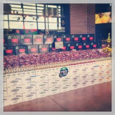 Wall of cherries & Ginger ale