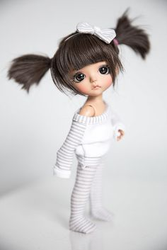pretty little SBelle Pretty Dolls, Beautiful Dolls, Blythe Dolls, Barbie Dolls, Chica Gato Neko Anime, Rag Doll Tutorial, Chibi Couple, Cute Baby Dolls, Kawaii Doll