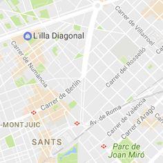 San Marius Travessera - Travessera de Gracia 22 08021 Barcelona   Situada en la calle Travessera de Gracia 22, esquina Casanovas, junto a la Diagonal y la plaza Francesc Macia. (entrada de la Diagonal)