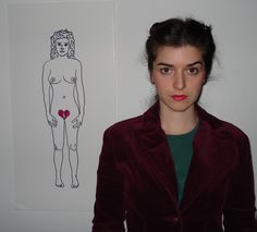 The artist (me) and her drawing.this is one half of the work. Original Art For Sale, The Originals, Drawings, Artist, Artists, Sketches, Drawing, Portrait, Draw