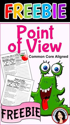 This Point of View Printable provides fun practice for your classroom. Students read a paragraph and decide if it is written as first person, third person limited, or third person omniscient. The paragraphs help the students understand Point of View. Third Grade Reading, Student Reading, Teaching Reading, Guided Reading, Teaching Ideas, Reading College, Reading Tutoring, Teaching Phonics, Reading Groups