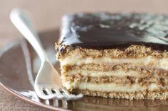 No-Bake Boston Cream Pie Strata Recipe