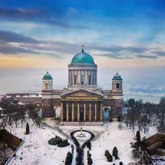 "Zoltan Gabor on Instagram: ""Basilica of Esztergom"""