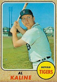 1968 Topps Al Kaline #240 Baseball Card