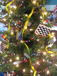 race car tree