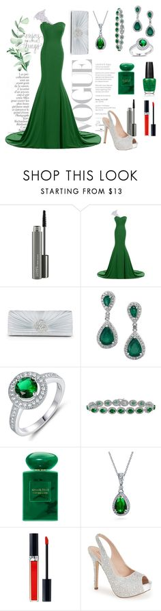"""""""Untitled #25"""" by modabeauty ❤ liked on Polyvore featuring By Terry, MAC Cosmetics, Sevil Designs, OPI, Giorgio Armani, Bling Jewelry, Christian Dior and Lauren Lorraine"""