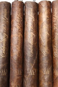 Cigars Under the Stars custom laser engraved cigars.  This could be cool instead of labels.