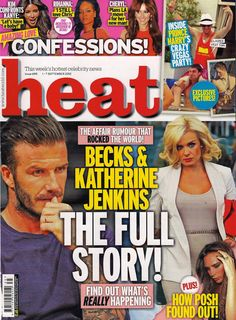 Black and Brown London featured in Heat Magazine