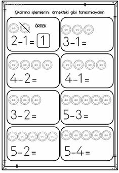 Printable Preschool Worksheets Grade Worksheets Kindergarten Worksheets First Grade Math Worksheets For Kids Math Resources Math Activities Math Games Touch Math Kindergarten Addition Worksheets, Subtraction Kindergarten, Printable Preschool Worksheets, English Worksheets For Kids, English Lessons For Kids, Kindergarten Math Worksheets, Preschool Writing, Numbers Preschool, Preschool Learning Activities
