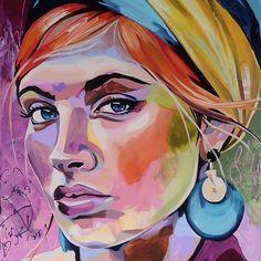 Faktisk udstiller jeg 6 af mine værker i min fødeby Gørding. Abstract Face Art, Abstract Portrait, Photo Portrait, Portrait Art, Final Fantasy Artwork, Wow Art, Art Pop, African Art, Art Pictures