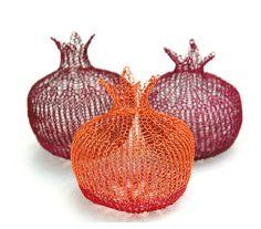 Great House Warming Gift , Handmade Pomegranates
