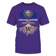 Washington Huskies - Living Roots New Hampshire