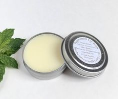 This all natural Peppermint lip balm will moisturize and leave your lips feeling smooth and soft. The .5oz silver tin is perfect for carrying in your pocket, purse, or travel on the go, and makes a wonderful gift for a family member or friend who loves lip balm! SIMPLE