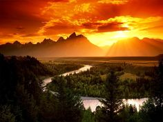 mountains sunset - Google Search