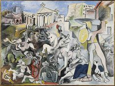Pablo Picasso The Rape of the Sabine Women Mougins 4–5 and 8 November 1962 Collection Centre Pompidou