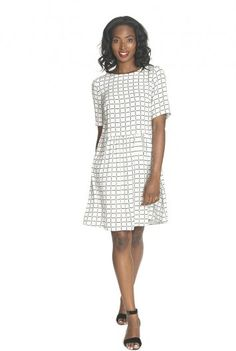 Check Woven Dress for Tall Women | Long Tall Sally UK