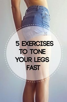 Do 3 sets of 12 of each of these exercises every two days for fast toning results.