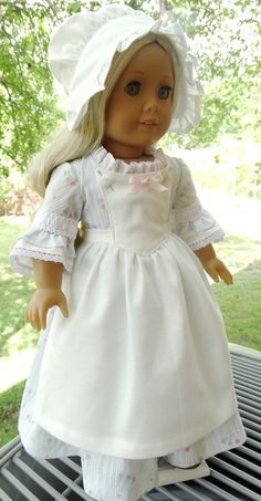 This outfit has been made to fit 18 dolls like American Girl. Please note that this will not fit the older, thicker American Girl dolls, but the