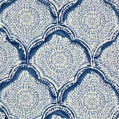 Sanganer Indigo Fabric