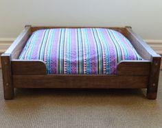 Personalizar la cama del perro cama perro por WorkHorseFurniture