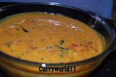Tomato curry using coconut milk