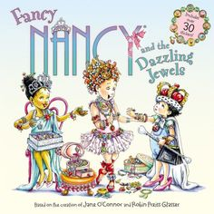 Join Fancy Nancy in a fabulous story about friendship and sharing, complete with fancy stickers! Fancy Nancy has so many jewels that her jewelry boxes are overflowing! (That's a fancy way of saying she can't even close them.) But when she and Bree decide… New Children's Books, Used Books, Fancy Nancy, Disney Junior, Stories For Kids, Book Authors, My Childhood, Childrens Books, Robin