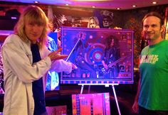Steve Whitman checking out Ray's #KIX #Band #painting!